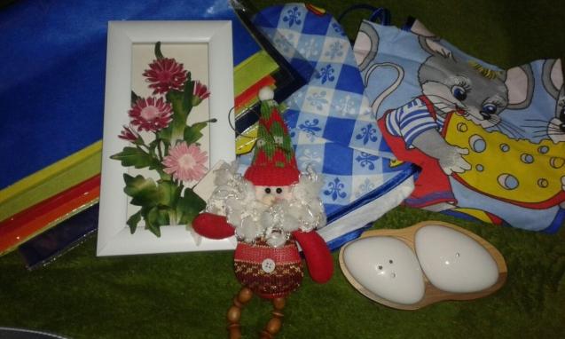 мои подарочки из Тулы)))