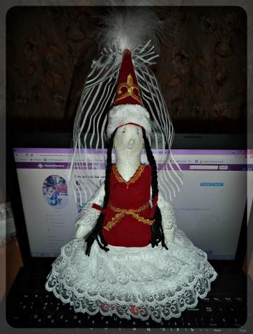 Невеста !!!моя новая кукла!)))))