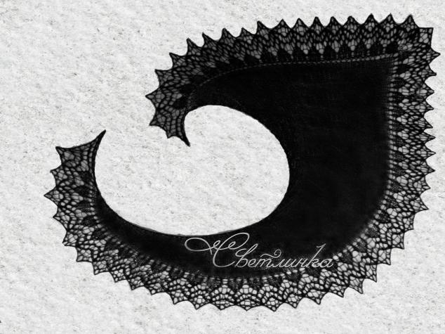 Мои  шалочки - фишюлечки Кружевная Кати И Сладкие мечты
