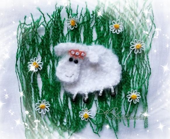 Кусочек лета холодной зимой или Бяшка в ромашках )