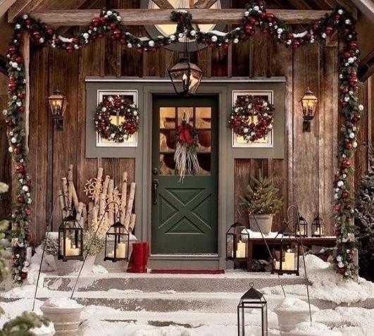 Спокойного Рождественского вечера