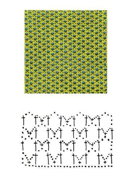 Вязание крючком полотна 29