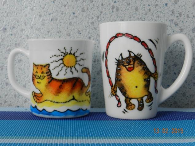 Кото-серия продолжается) Кото-кружки и кото-магниты. И немного на заказ принцесностей.)