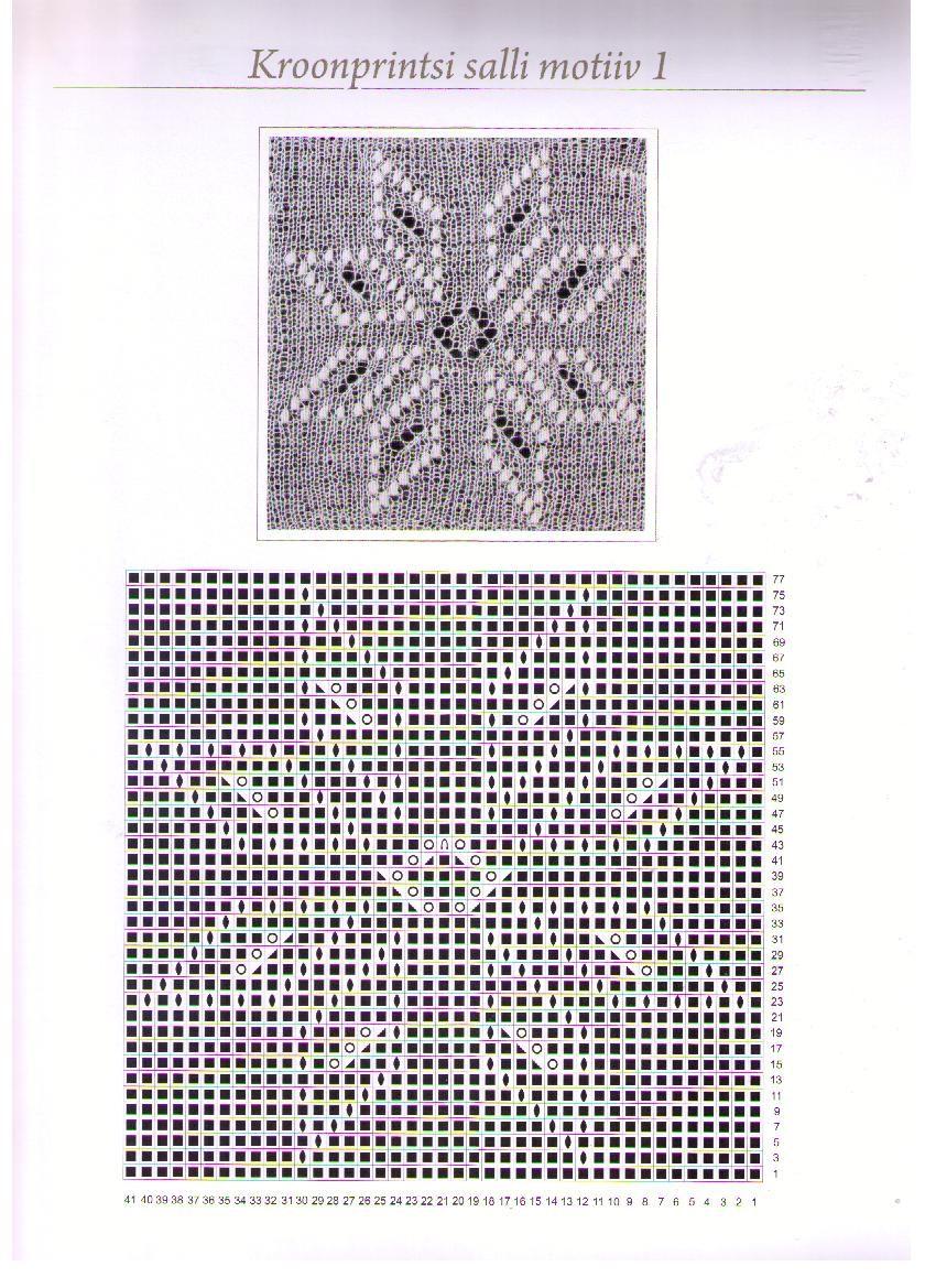 Схемы вязания эстонские