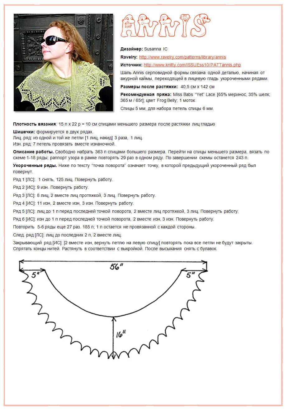 Ажурные узоры вязанные спицами схемы и описание