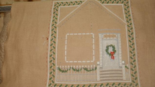 Отчет по рождественскому домику,3 этап