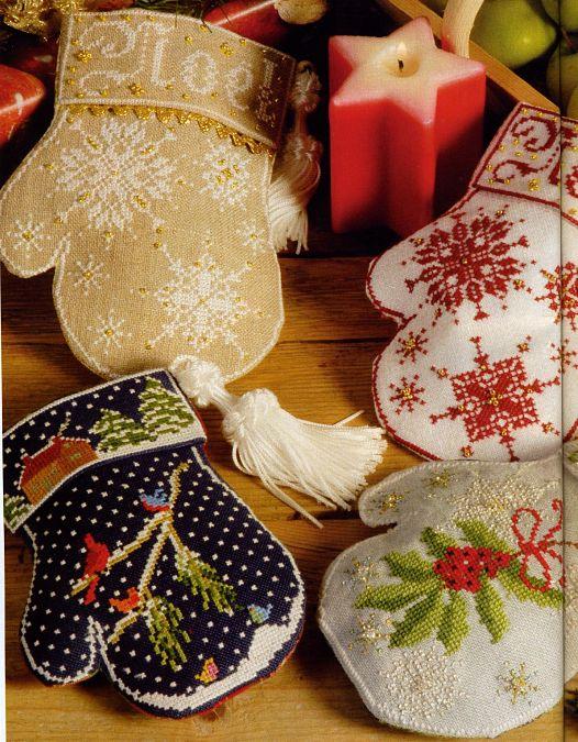 Вышиваем подарки к новому году