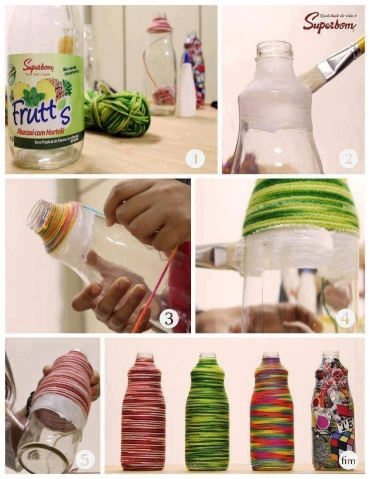 Бутылочки, немного по другому