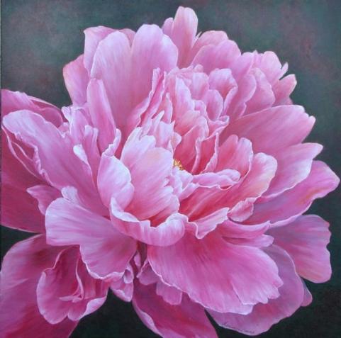 Цветочная живопись Marianne Broome