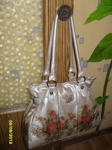 """Моя """"новая"""" старая сумка"""