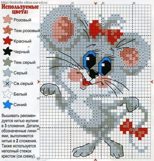 Сайты с схемами для вышивки крестиком