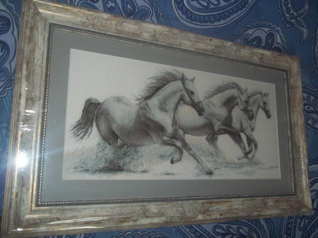 """Мои """"Белые лошади"""" наконец приобрели """"ауру""""."""