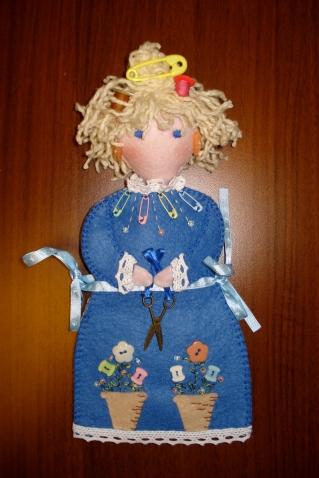 Швейная донья из фетра