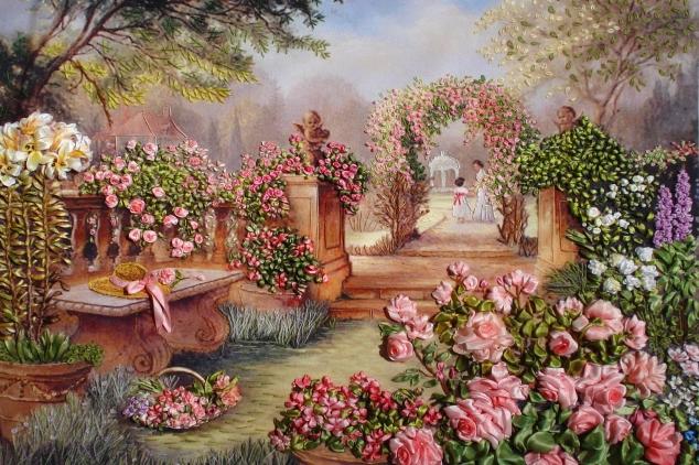 Розовый сад или до свидания, лето!