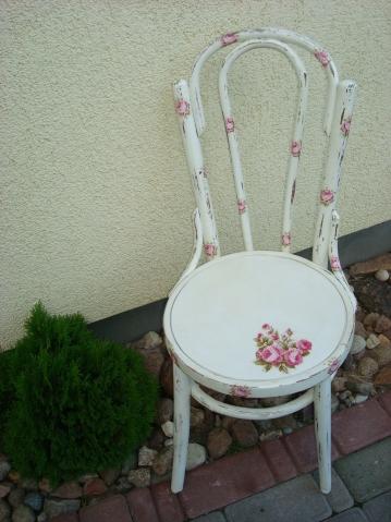 Как сделать стул в стиле прованс своими руками - Политрейд