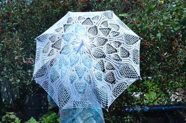 мой вязаный зонтик