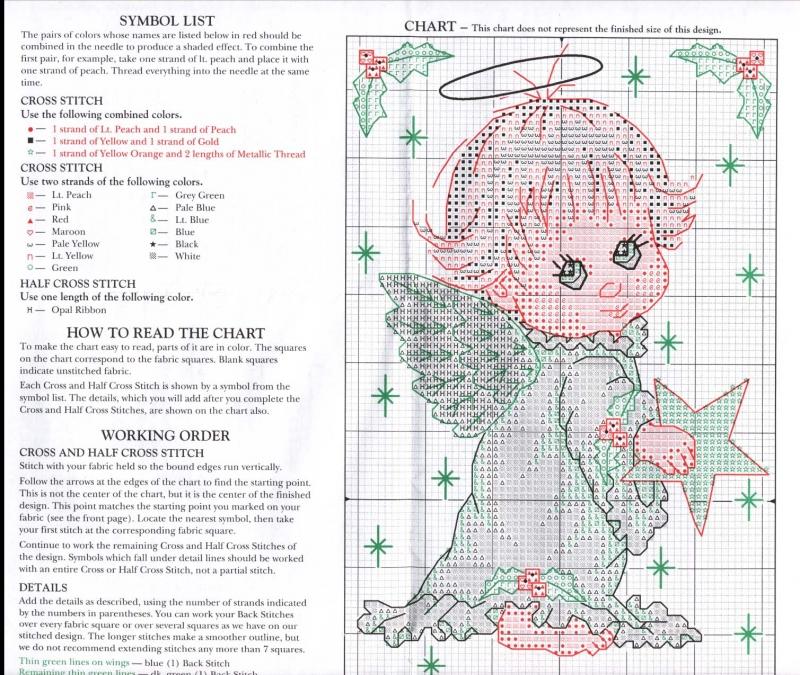 Часть 14 - Ангелочки. Вышивка