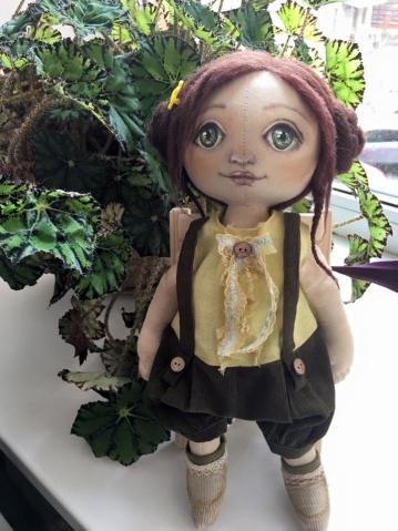 Новая куколка.