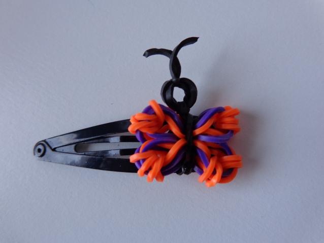 Бабочка на заколку или колечко