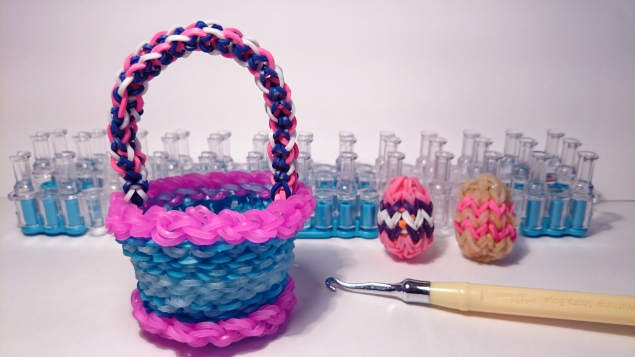 Резинки для плетение поделки