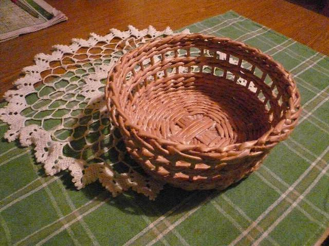 Плетеные изделия из бумаги