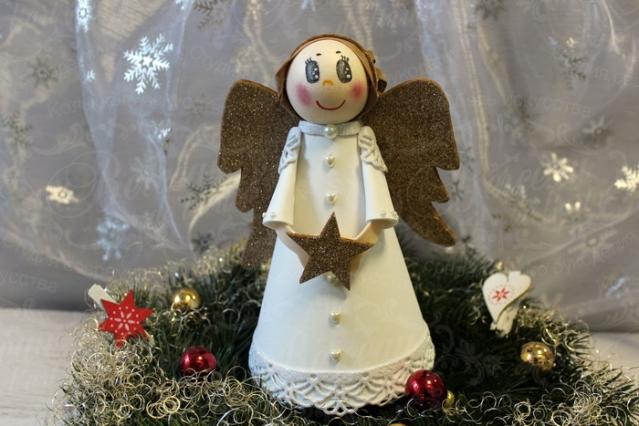 Мастер-класс по работе с фоамираном «Рождественский ангел».