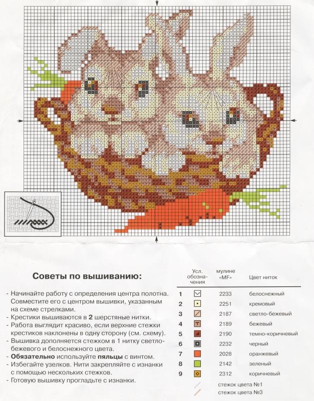 милых зайчиков и кроликов.