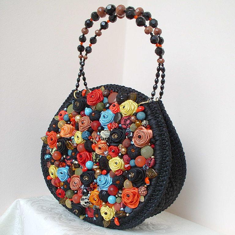Как украсить сумку для девочки 52