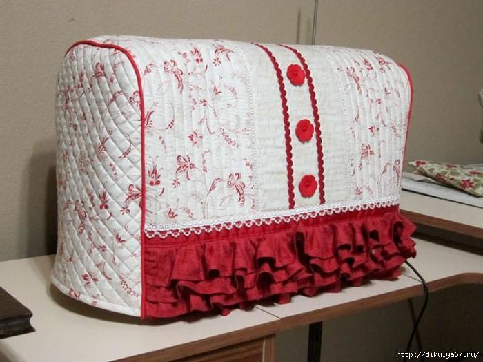 Шьём чехол для швейной машинки