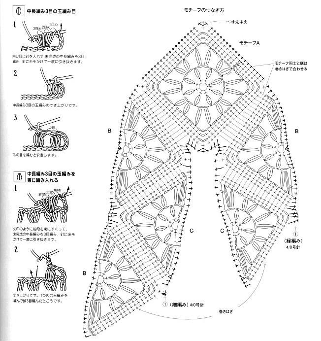 Вязание крючком тапочки со схемой и описанием