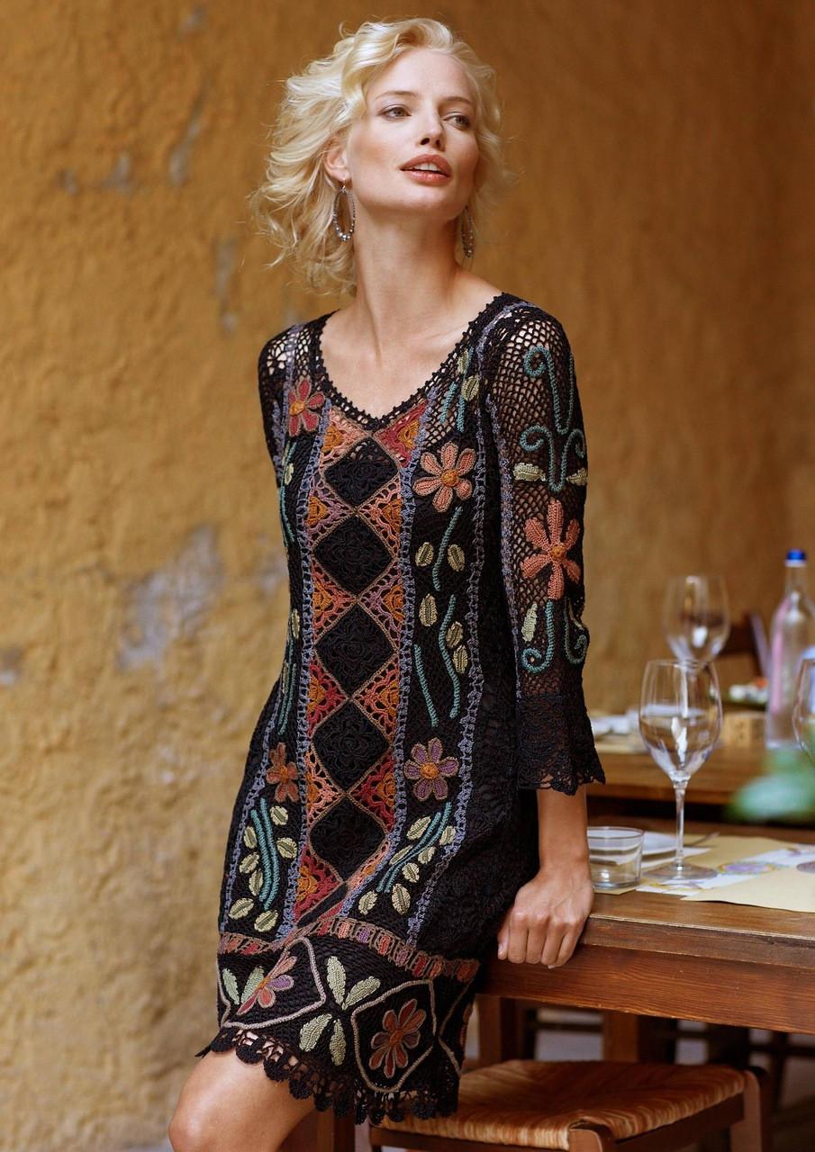 Платье Перуанский мотивЧтобы добавить эту работу в свой список