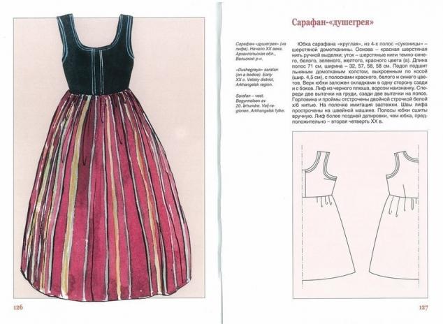 выкройка сарафана платья-футляр на осень 2012