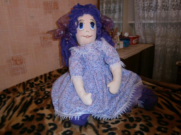 Василиса. Кукла для внучки.