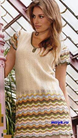 Для Вас, стройняшки- мини-платье с волнистыми узорами «Pansy», 1 серия.