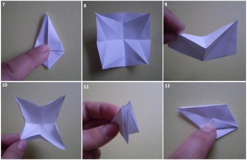 Как сделать розу из бумаги без ножниц