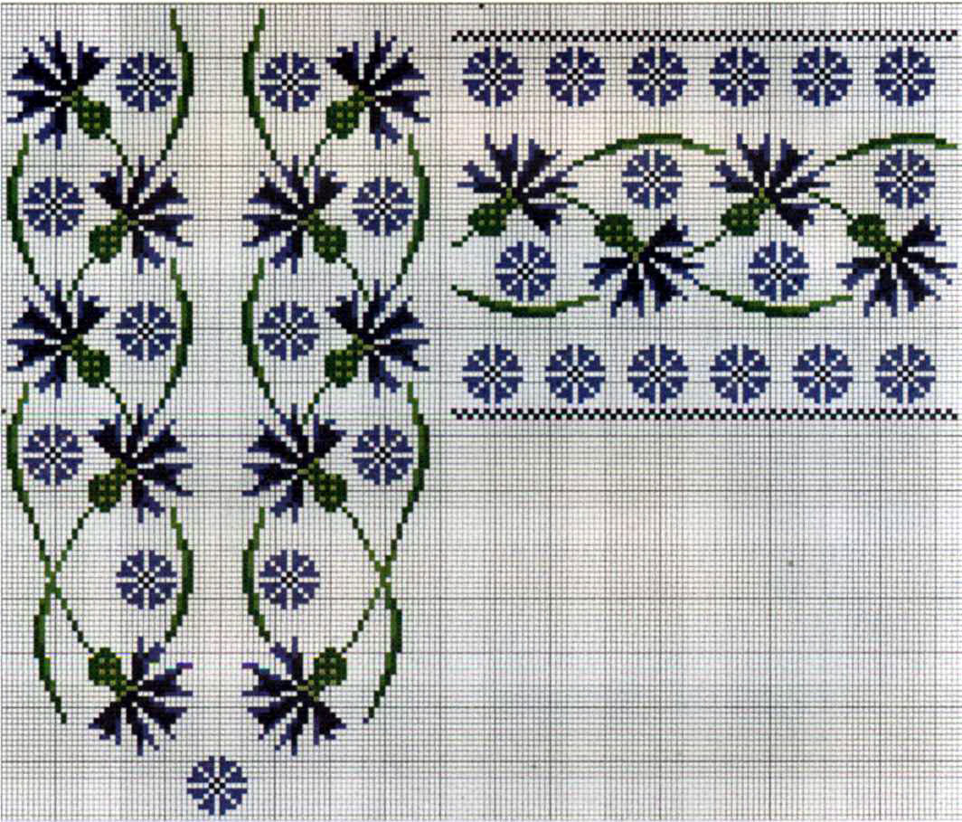 Схемы вышивки крест сорочки