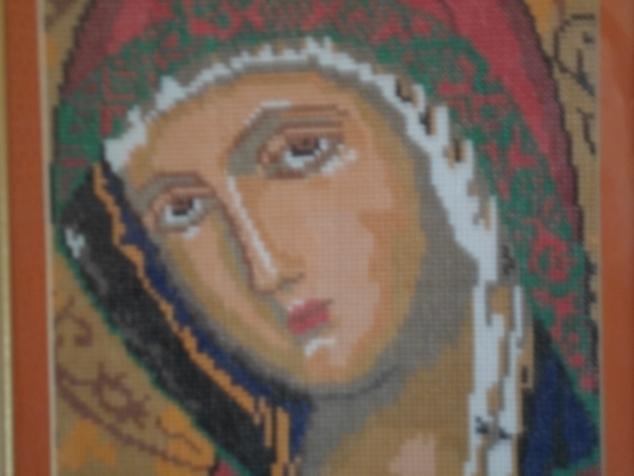Некоторые мои работы по вышиванию крестом.