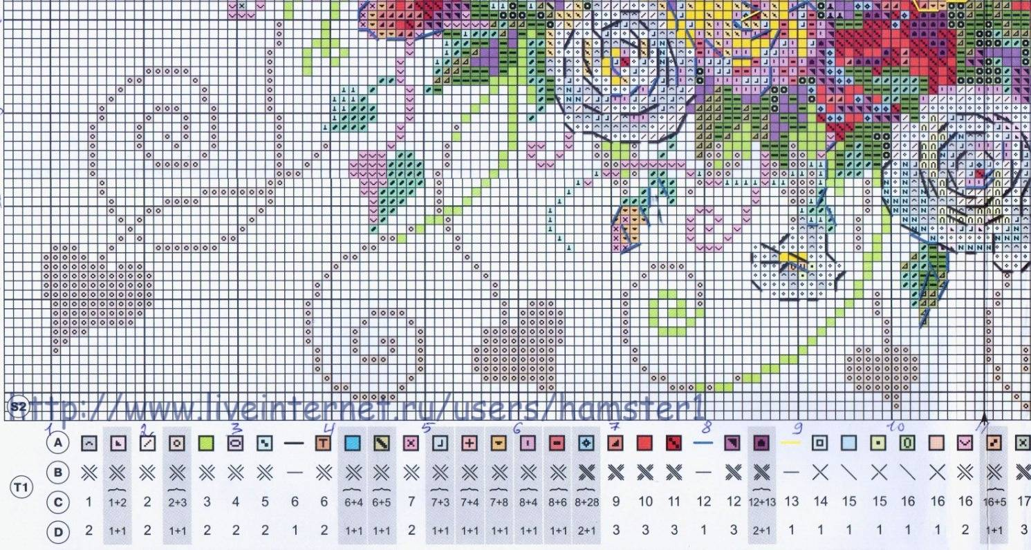 Цветная пряжа для вязания меланж образцы вязания 56