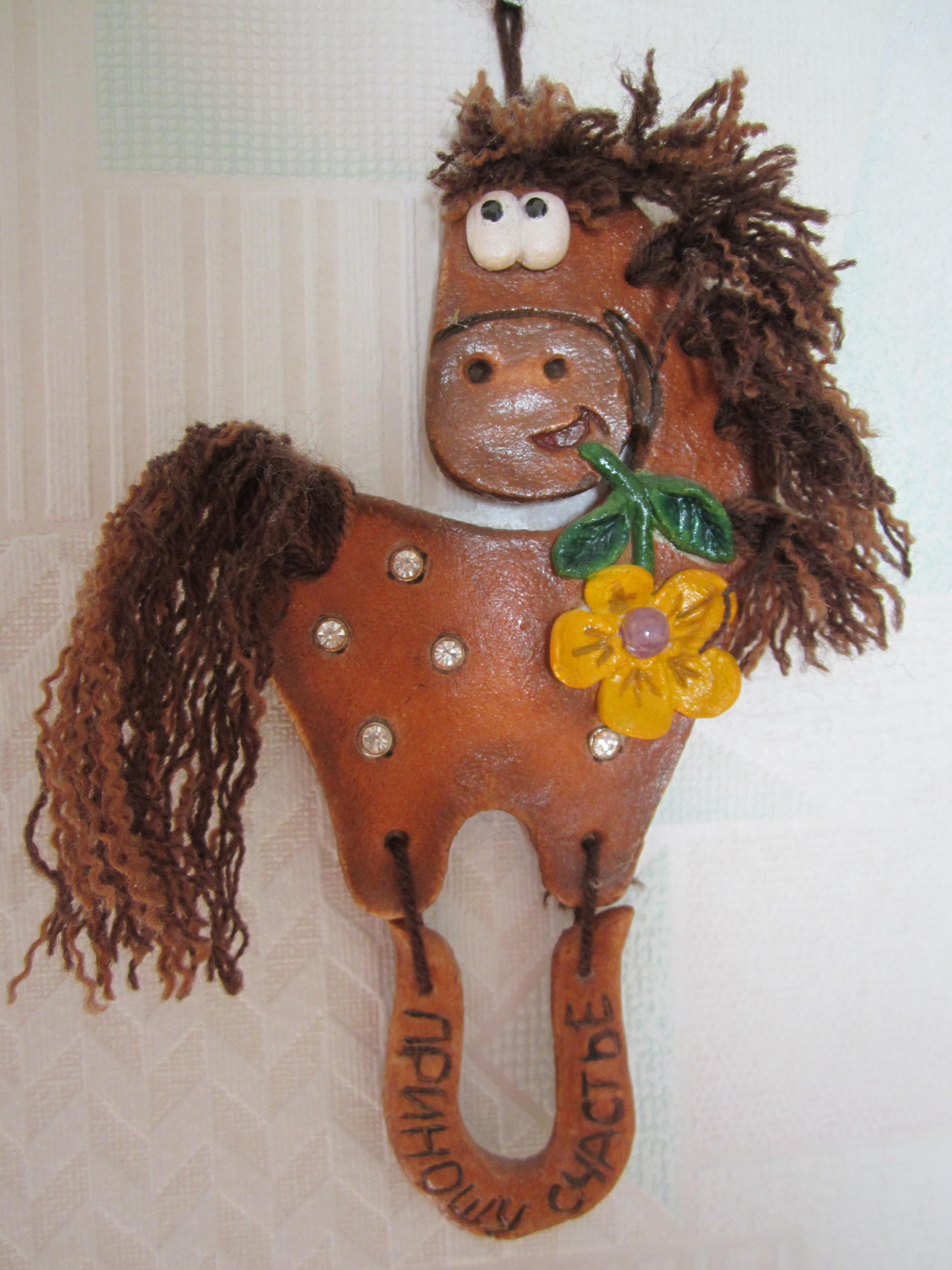Соленое тесто лошадка своими руками
