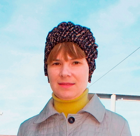 Моя новая шапочка.