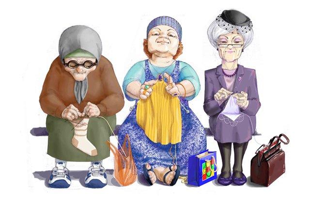 Поздравление старушки