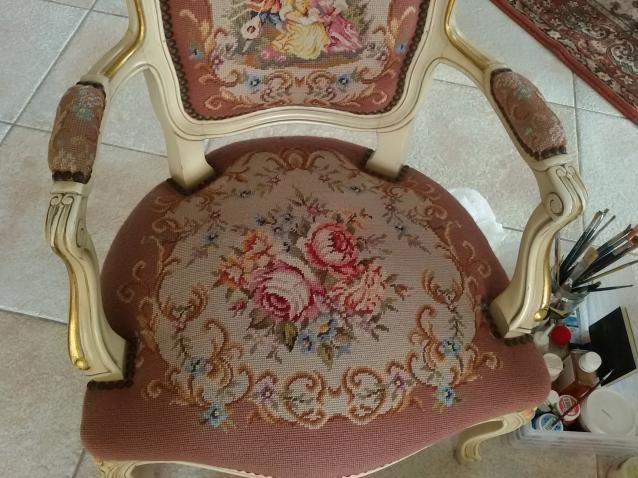 Ремонт любимого стула