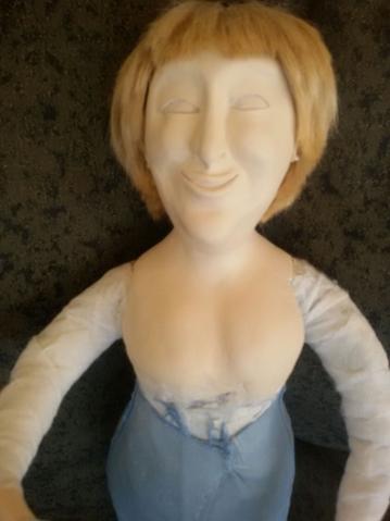 Кукла из PAPERCLAY