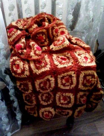 ютуб вязание бабушкиных квадратов