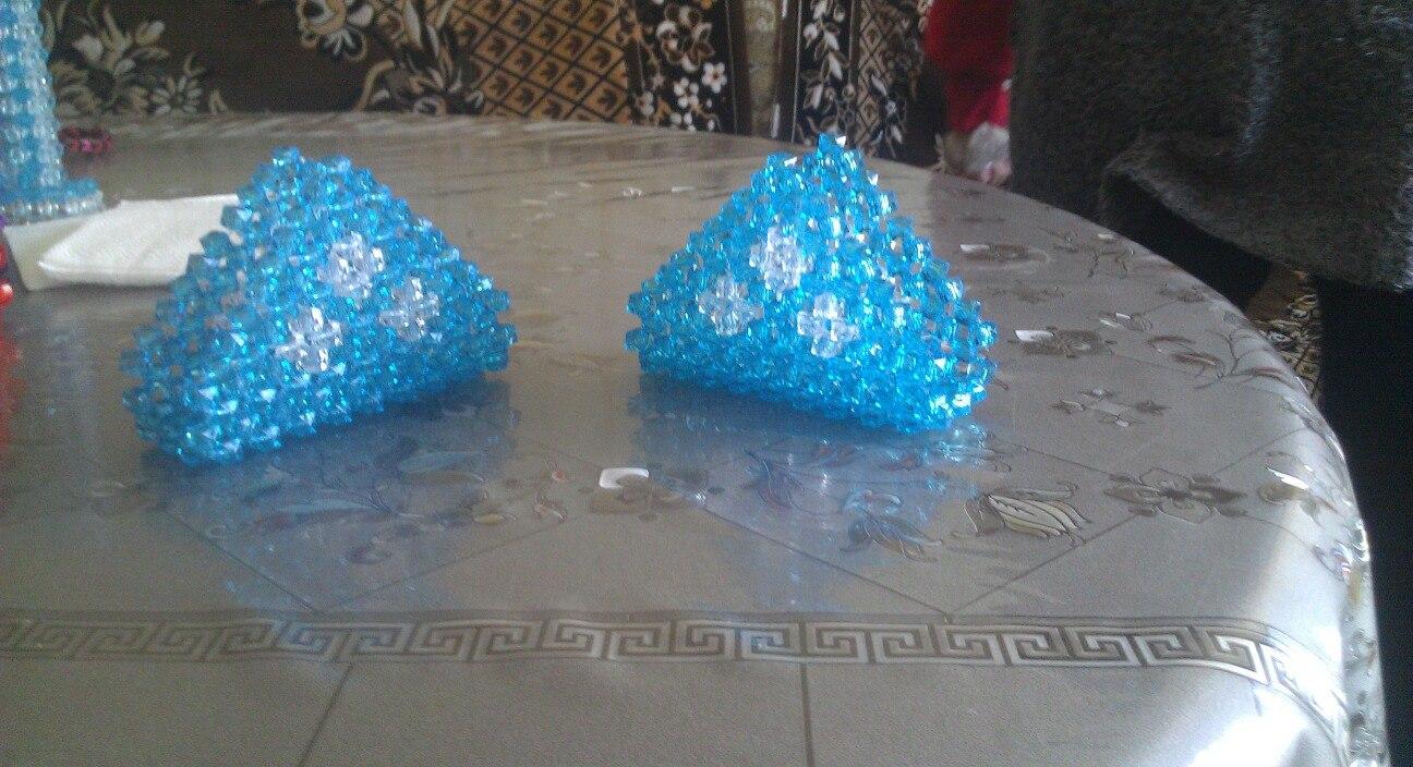 оригами конфетница схема