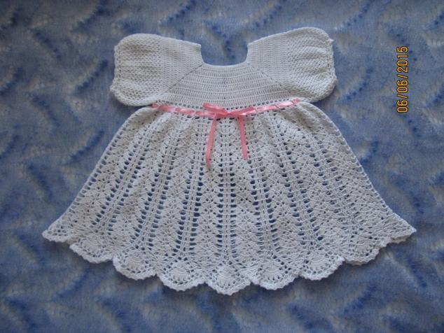 Крестильное платье для младшенькой.