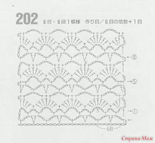 Вязание крючком страна мам более 300 схем