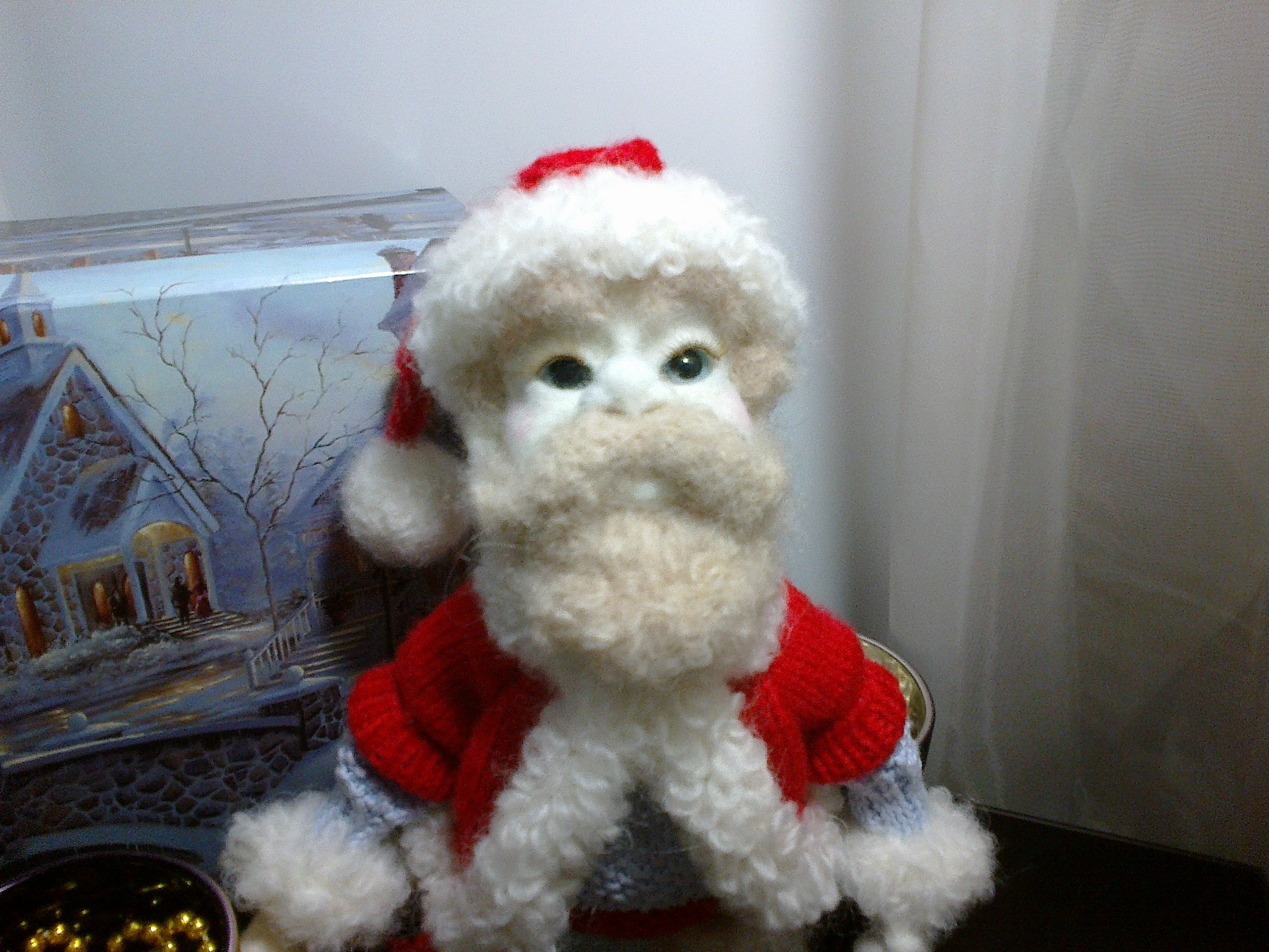 костюм дед мороза спицами схемы