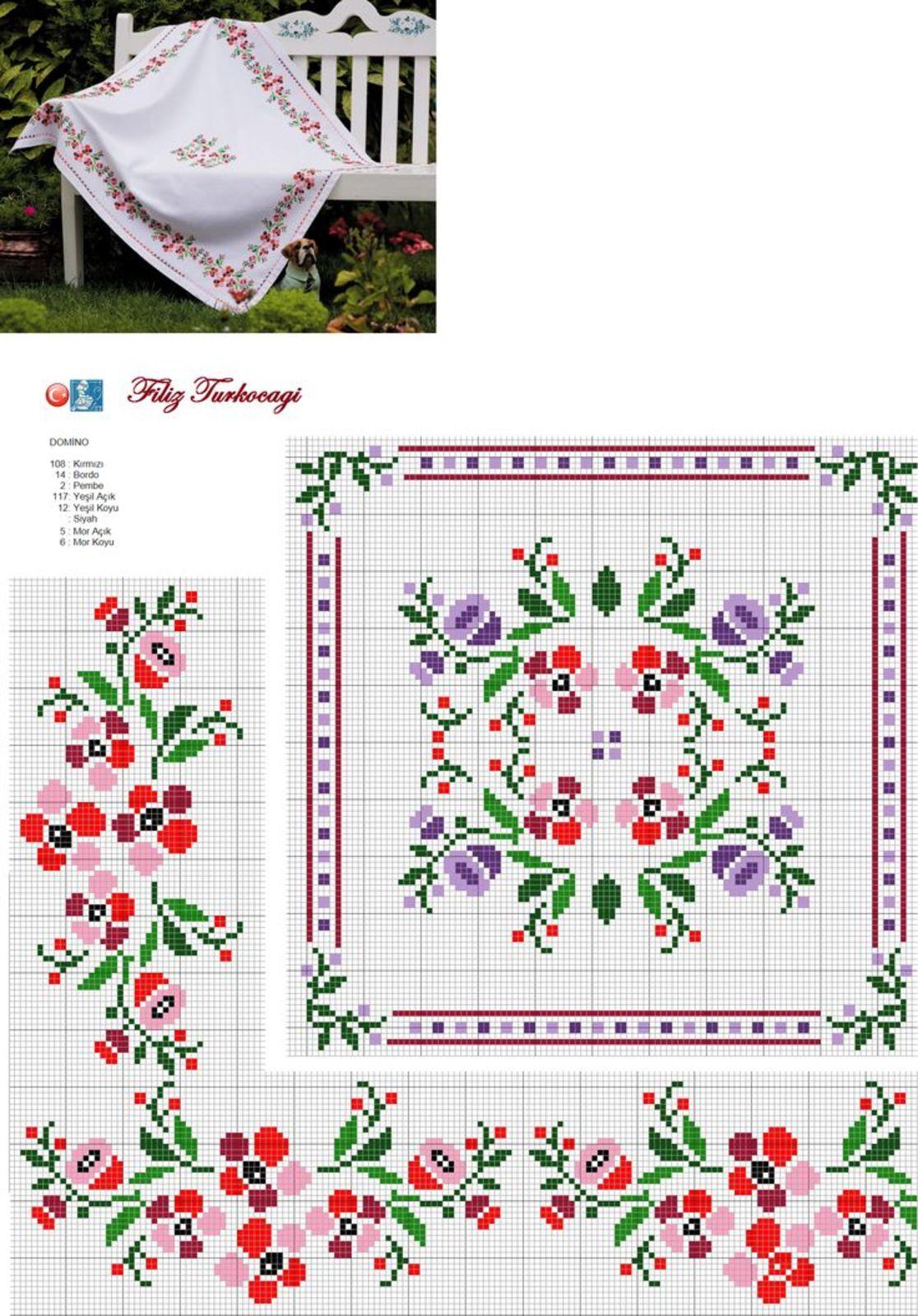Схемы для вышивки бисером 83