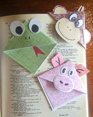 Угловая закладка для книг